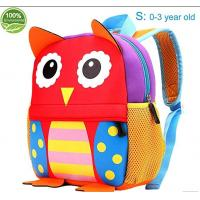 Buy cheap Friendly neoprene Little Kids Cute Animals Backpack Preschool Bags Waterproof from wholesalers