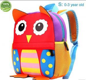Buy cheap Friendly neoprene Little Kids Cute Animals Backpack Preschool Bags Waterproof for Toddler,kindergarten kids product