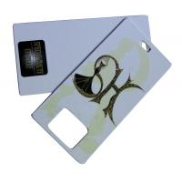 Buy cheap Lady Dress Printable Hang Tag 800gsm Artpaper With Offset printing from wholesalers
