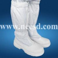 Buy cheap ESD Cleanroom Fabric Boot from wholesalers