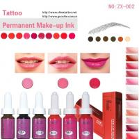 Buy cheap No Metal Ingredient Tattoo and Permanent Make-up Pigment from wholesalers