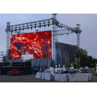 Super Slim Outdoor Rental LED Display P5.95 Mobile LED Video Wall 1/7 Scan Driving