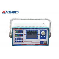 Buy cheap Three / Six Phase Secondary Injection Protection Relay Electrical Test Equipment from wholesalers