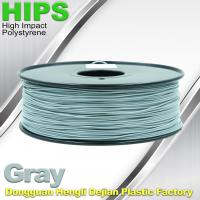 Buy cheap HIPS 3D Printer Filament 1.75 / 3.0mm , Material for 3d printing Markerbot , from wholesalers
