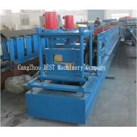 Buy cheap Hydraulic Cutting PLC Control Z Purlin Steel Channel Roll Forming Machine from wholesalers