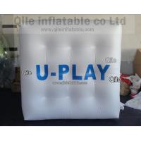 Buy cheap Large Helium Balloon Cube with UV protected printing , Flying Square Rectangula from wholesalers