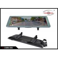 Buy cheap Super HD 1080P DVR Rear view Mirror Monitor / Dual Lens Car Black Box Video from wholesalers