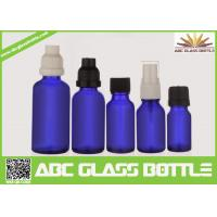 Quality Made In China 10ml 15ml 20ml 30ml 50ml Blue Oil Glass Bottle,Amber Oil Glass for sale