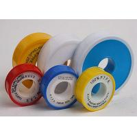 Buy cheap Cold - Resistance PTFE Thread Seal Tape For Chemical Industry , Yellow PTFE Tape from wholesalers