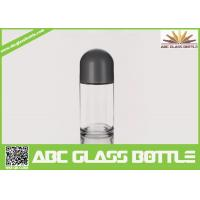 Buy cheap Hot Sale 50 ml Frosted Roll On Glass Bottle With Crew Cap from wholesalers
