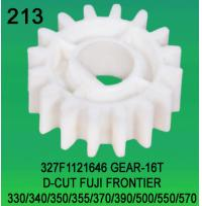 Buy cheap 327F1121646 GEAR TEETH-16 D-CUT FOR FUJI FRONTIER 330,340,350,355,370,390,500,550,570 minilab product