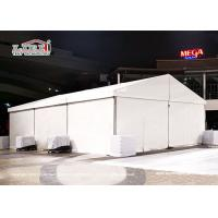 Buy cheap CFM Small Party Tent 10x15m For 100-150 People White Lining And Curtains Around from wholesalers