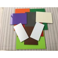 Buy cheap Fireproof White Aluminium Composite Sheet 5 * 1350 * 5000mm With 0.40mm Alu from wholesalers