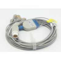 Buy cheap Compatible  Reusable Mindray 5 leads ECG Cable for patient monitor , Round 12pin medical cable from wholesalers