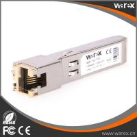 Buy cheap Cost-effective GLC-T SFP Copper Transceiver RJ-45 Connector 1000BASE-T 100m from wholesalers