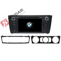 Buy cheap 1 Series E81 / E82 / E87 BMW DVD GPS Navigation Android 6 Car Stereo Support 4G from wholesalers
