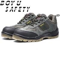 Buy cheap Cheap Wholesale Microfiber Leather Rubber Outsole Anti-skid Working Safety Shoes from wholesalers