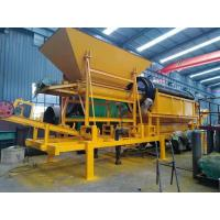 Buy cheap gold washing plant with conveyor belt small sand gravel trommel screen from wholesalers