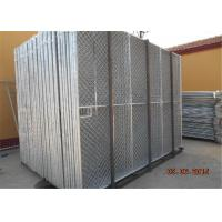 Buy cheap Hot dipped galvanized 6'x12' construction chain link fence panels tubing 48mm  1⅞(48mm) x 16 ga diameter and mesh 60mm from wholesalers