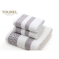 Buy cheap Zero Twist Terry Spa Bath Towels / Airplane Hotel Bathroom Towels from wholesalers