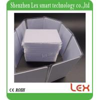 Buy cheap low frequency ID Proximity Cards 125Khz TK4100 White Card plastic material both side Printable blank rfid card from wholesalers