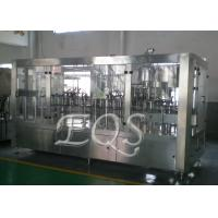 24 Filling Heads 4 In 1 Monoblock Pulp Juice Filling Machine for PET Bottle