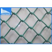 Buy cheap Hot Dipped Garden Chain Link Fence Panels , Decorative Sports Ground Fencing from wholesalers