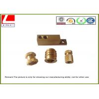 Buy cheap Computer Numerical Control CNC Machining Metal Parts Brass shaft from wholesalers