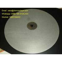 "Buy cheap 16""inch Diameter #1000 Grit Flat Lap wheel Lapidary lapping polishing disc for polishing gemstones from Wholesalers"