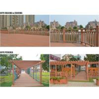 Buy cheap Durable exterior WPC decking product
