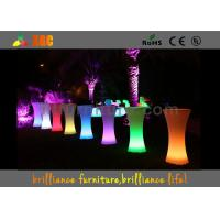 Buy cheap LED lighting Cocktail table / 100-240V Outdoor Furniture for party & exhibition from wholesalers