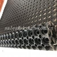 Buy cheap Residential  Interlocking Perforated Kitchen Floor Rubber Mats Anti Skid Shock Proof from wholesalers