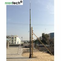Buy cheap 15m pneumatic telescopic mast-NR-2750-15000-30 for mobile antenna mast tower-aluminum telescoping mast from wholesalers