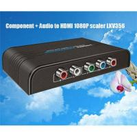 Buy cheap LKV356 Component + Audio to HDMI 1080P Scaler from wholesalers