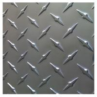 Buy cheap Building Frame 3003 3A21 Diamond Pattern Aluminum Sheet from wholesalers
