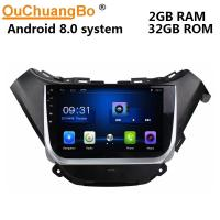 Buy cheap Ouchuangbo car multi media radio android 8.0 for Chevrolet Malibu 2016 support  SWC wifi 4 Core CPU BT music from wholesalers
