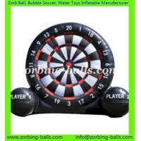 Buy cheap Inflatable Foot Darts Football Dart Board Soccer Games Vano Inflatables from wholesalers
