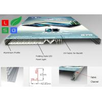 Buy cheap Ultra Thin Fabric LED Light Box , Folding LED Panel Light Box Frame For Store Interior Display from wholesalers
