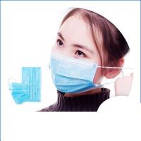 Buy cheap Anti Virus Safety Breathing Mask / Disposable Face Mask With Elastic Ear Loop from wholesalers