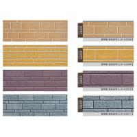 Buy cheap Polyurethane Sandwich Metal Wall Panels  , Indoor Faux Stone Panels For Steel Structure from wholesalers
