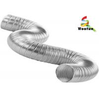 Buy cheap Light Weight Metal Semi Rigid Dryer Duct Installation Flame Retardant from wholesalers