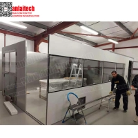 Buy cheap modular cleanroom dust free clean room air cleaning equipment with ISO9001 from wholesalers