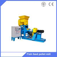 Buy cheap Fish feed pellet machine/floating fish feed extrusion machine/animal feed extruded machine from wholesalers