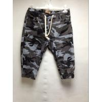 Buy cheap Stretch Casual Mens Short Pants With Elastic Waist , Camo Cargo Pants For Men from Wholesalers