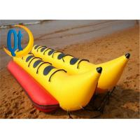 Buy cheap PVC Fly Fish Yellow Banana Boat Double Inflatable Water Toys Crazy Water Game Toys For Kids And Adul from wholesalers