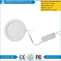 Buy cheap Flat LED Panel Light Lamp, Dimmable Round Ultrathin LED Recessed Downlight, Panel Ceiling Lighting with LED Driver from wholesalers