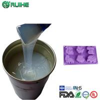 Buy cheap Rtv2 Molding Liquid Silicone Rubber Raw Material To Concrete Mold Good Resilience from wholesalers