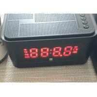 Buy cheap Mini Desktop Portable Bluetooth Speaker Alarm Clock Wireless LED Display from wholesalers