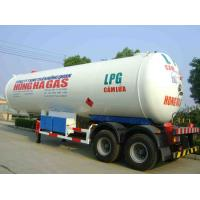 Buy cheap CLW brand LPG gfas tank semi-trailer with sunshield for sale, double BPW/FUWA  axles lpg gas propane trailer for sale from wholesalers