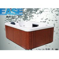 Buy cheap 220V / 16A acrylic shell whirlpool massage outdoor portable spas hot tubs for 3-4 adults from wholesalers